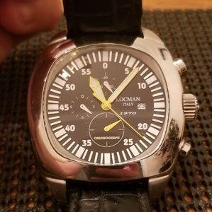 Mens Locman Italian Watch- authentic & working!